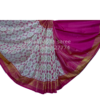 WHITE PINK PATOLA SAREE