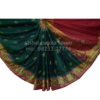 GREEN PARROT DESIGNED PATOLA SAREE